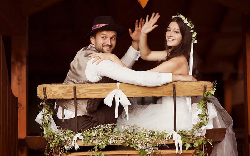 Redoslijed događaja na dan vjenčanja