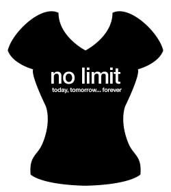 "Poklon za djevojačku večer - Majica ""No limit"""